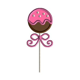 Cake Pop Applique Design