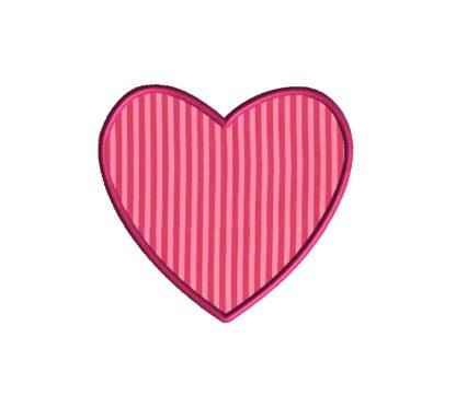 Heart Frame Applique Design