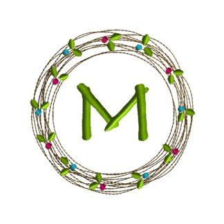 Laurel Vine Machine Embroidery Design