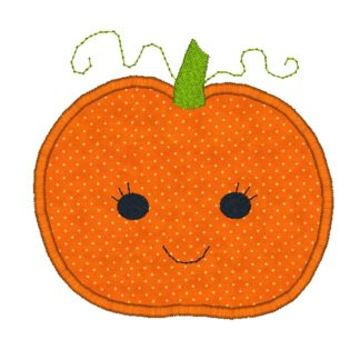 Pumpkin Applique Design II