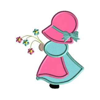 Sun Bonnet Sue Applique Design