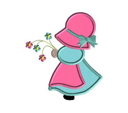 Sun Bonnet Sue Applique Design