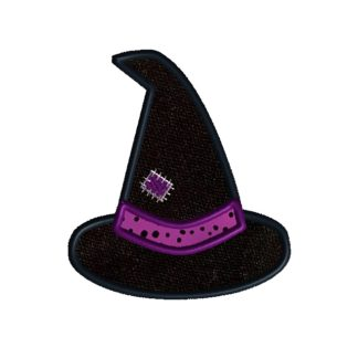 Witch Hat Applique Design