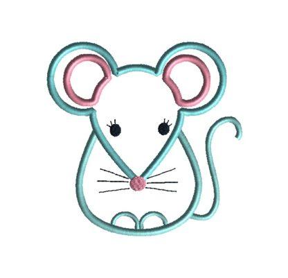 Little Mouse Applique