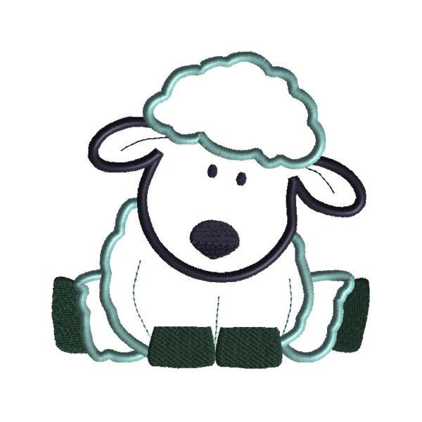 Sheep Applique