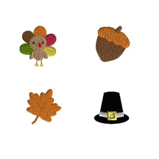 Mini Thanksgiving Set