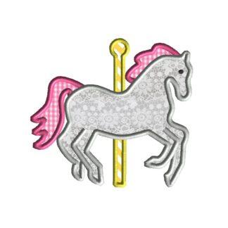 Carousel Horse Applique
