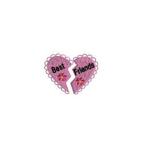 Mini Best Friends Embroidery Design