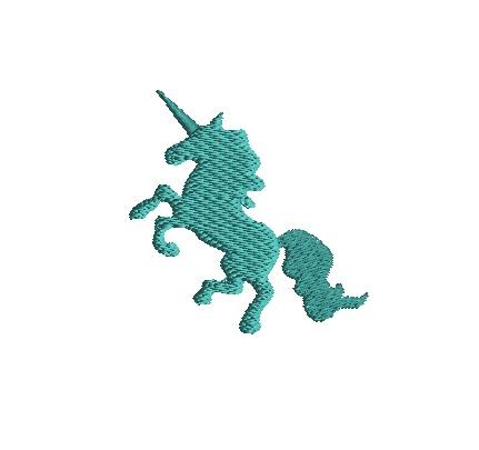 Mini Unicorn Embroidery Design