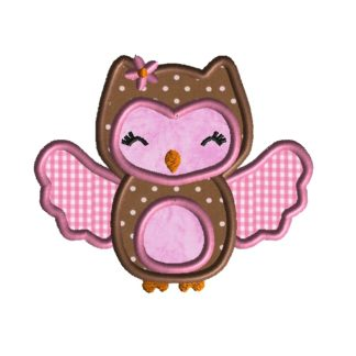 Baby Owl Applique