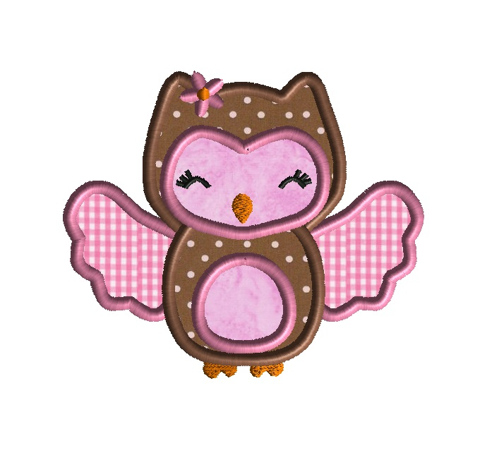Baby Owl Applique