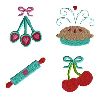 Mini Baking Embroidery Set