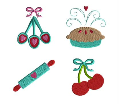 Mini Baking Embroidery Set