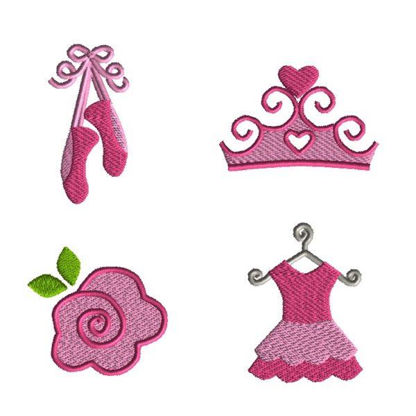 Mini Ballet Embroidery Set