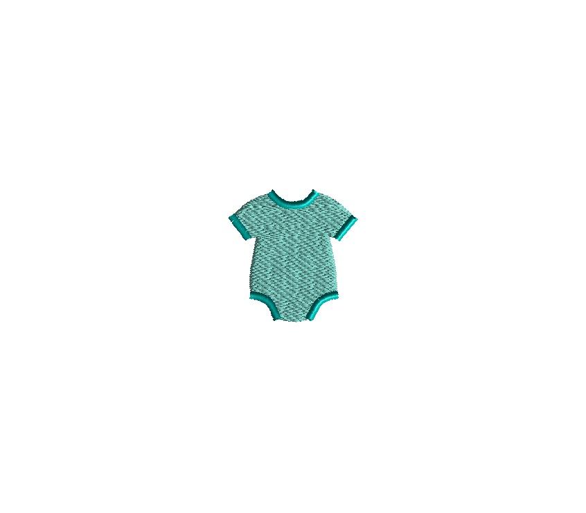 Mini Baby Girl Embroidery Set