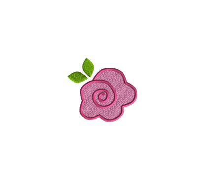 Mini Rose Embroidery Design