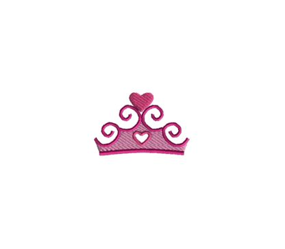 Mini Tiara Embroidery Design