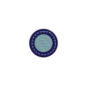 Mini Plate Machine Embroidery Design