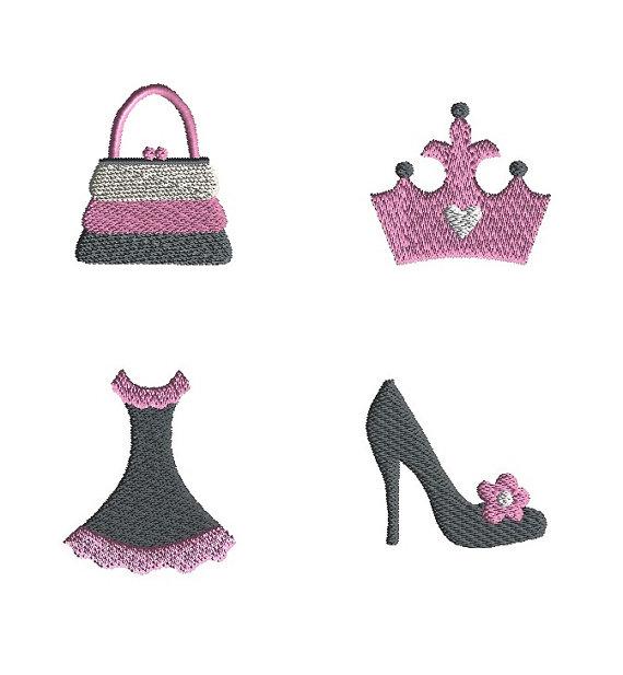 Mini Diva Machine Embroidery Design Set