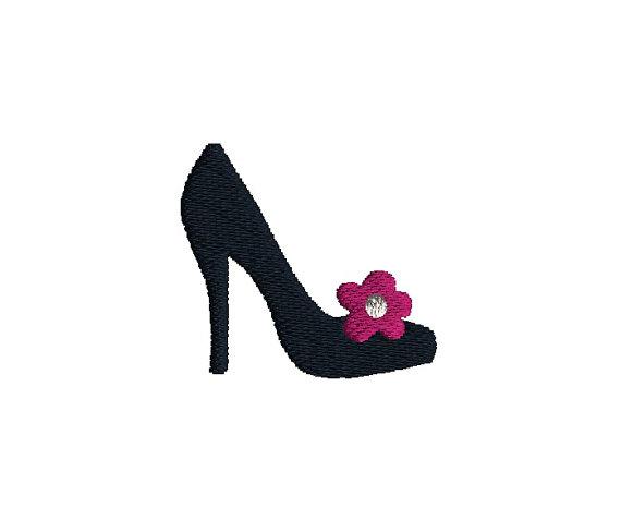 Mini Shoe Embroidery Design