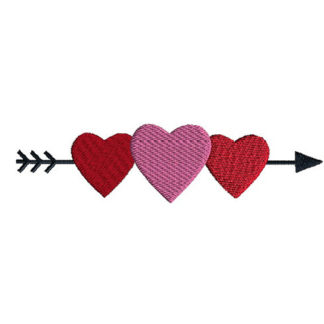 Heart Border Applique Machine Embroidery Design 1