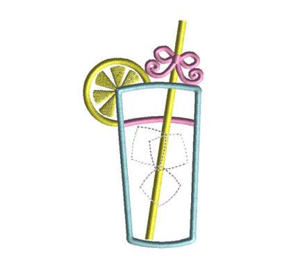 Lemonade Applique Machine Embroidery Design 2