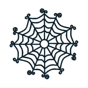 Spider Web Applique Machine Embroidery Design