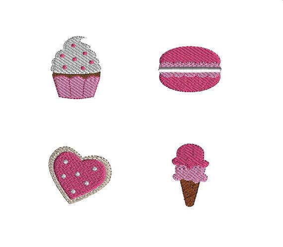 Mini Sweet Shop Machine Embroidery Design Set