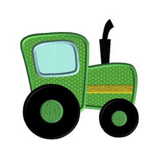 Tractor Applique Machine Embroidery Design 1