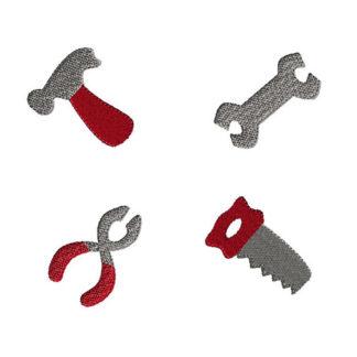 Mini Tools Machine Embroidery Design Set