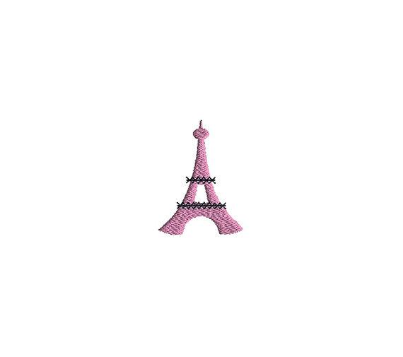 Mini Paris Machine Embroidery Design Set