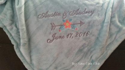 Arrow Flower Applique Machine Embroidery Design 3