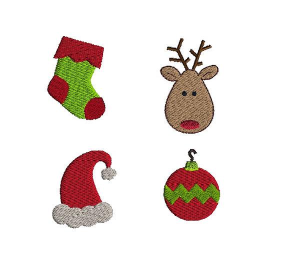 Christmas Machine Embroidery Design Set