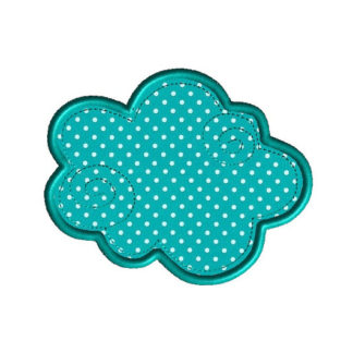 Cloud 9 Applique Machine Embroidery Design 1