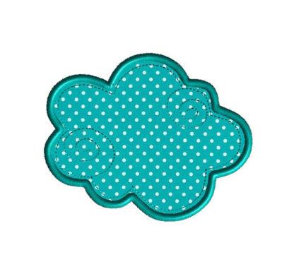 Cloud 9 Applique Machine Embroidery Design 1