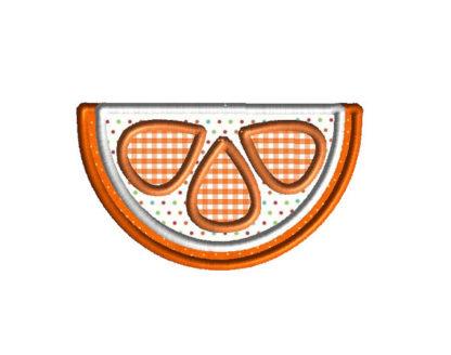 Citrus Slice Applique Machine Embroidery Design 3