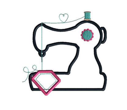 Sewing Machine Applique Machine Embroidery Design 1