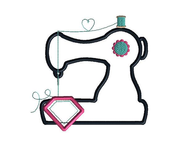 sewing machine applique designs