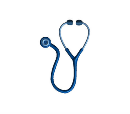 Stethoscope Applique Machine Embroidery Design