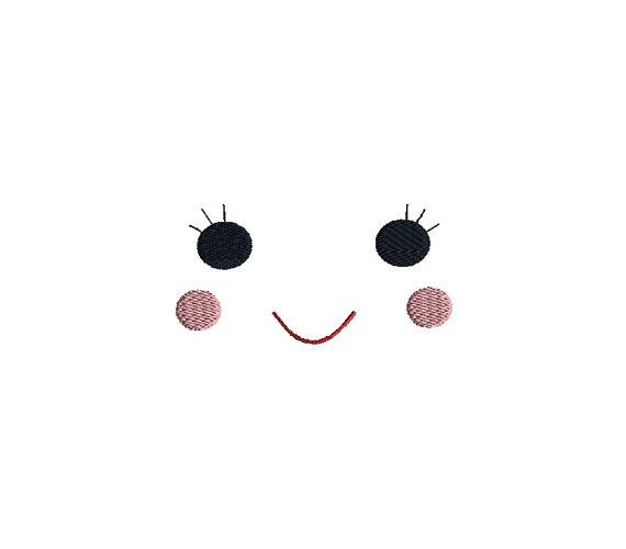 Doll Face Iv Applique Machine Embroidery Design