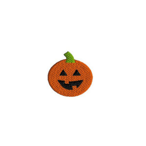 Mini Jack o Lantern Machine Embroidery Design
