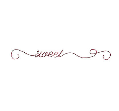 Doodle Sweet Machine Embroidery Design