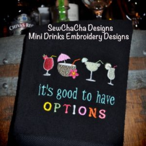 Mini Embroidery Designs From SewChaCha®