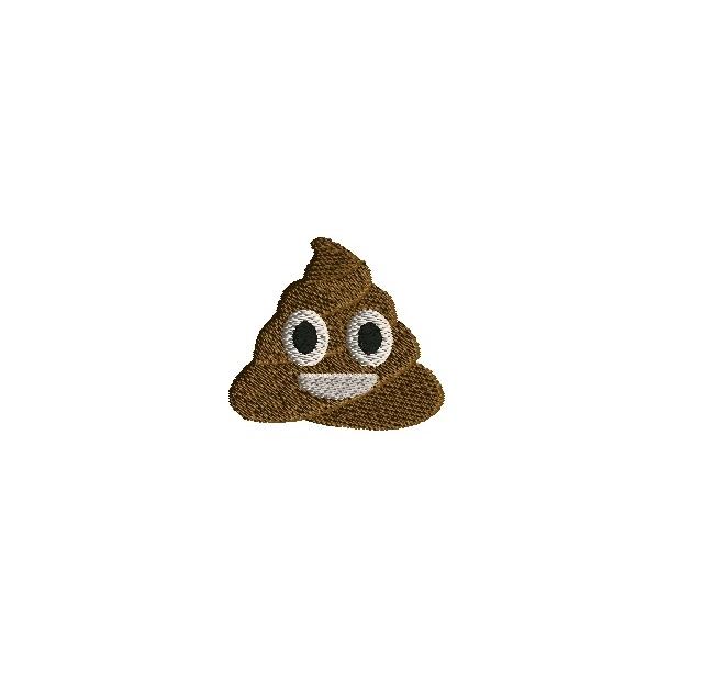 Poop Embroidery Designs