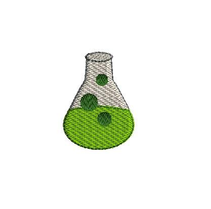 mini beeker machine embroidery design 3 sizes